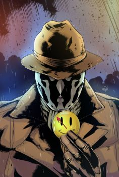 Rorschach - Watchmen by Soliduskim