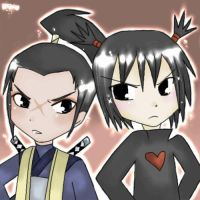 Pucca -- Rivals by littlelenore