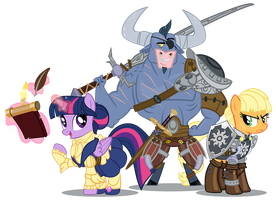 Dragon Age Pones by PixelKitties