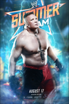 WWE Summerslam 2014 Poster by 95100wwe