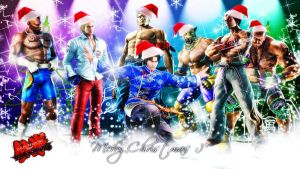 A TEKKEN CHRISTMAS by amit55