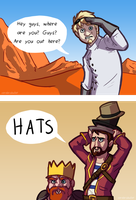 Hats by Cerebrobullet-art