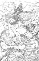 First Comics entry pencils by warpath28