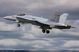 Swiss f 18 hornet by JHILLS