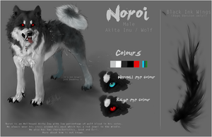Noroi  -Ref Sheet- by WhiteSpiritWolf