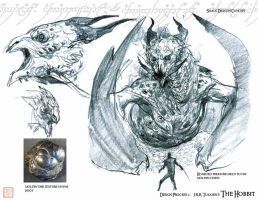 Smaug concept by kineticflow