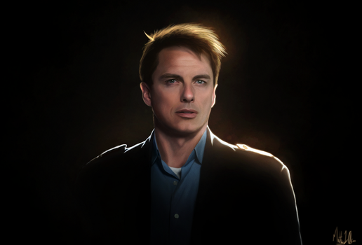 Jack Harkness - Digi-painting by Lasse17
