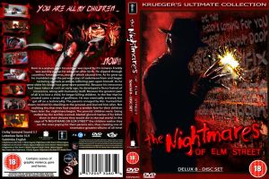 The Nightmares Of Elm St dvd by cutnpaste-since2011