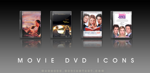 Movie DVD Icons 7 by manueek