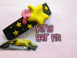 Kirby Hair Pin Tutorial by NerdEcrafter