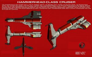 Hammerhead class cruiser ortho [New] by unusualsuspex