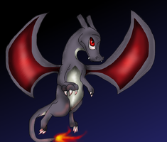 Shiny Charizard by PlagueDogs123