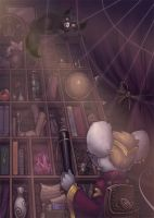Magic Library by Beffana