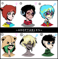 Adoptables - 2 by Fancy-Tramp