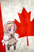 Hetalia iWallpapers - Canada by Dreamweaver38