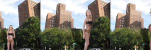 Candice Swanepeol Giantess Growth by ToxicEyeGTS