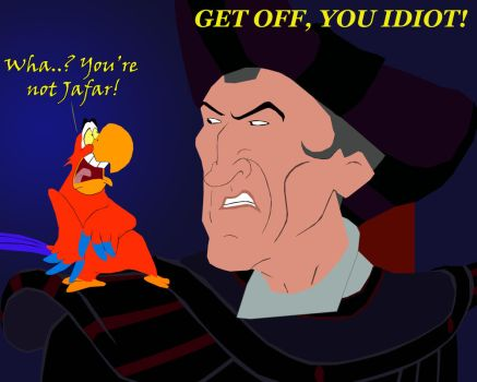 Iago and Frollo by AndrewSS23