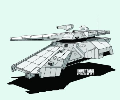 Medium Imperial Hover Tank by m-a-p-c
