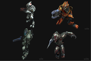Halo Reach Elite Armor by crested217