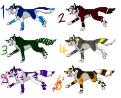 20 point wolf adoptables -CLOSED- by ripple09