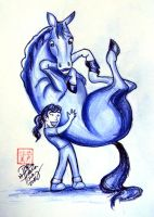 I Love Horses This Much by Diana-Huang