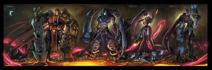 Darksiders Ruffies by RobDuenas