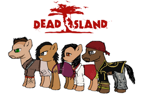 Dead Island ponified mane cast by glue123