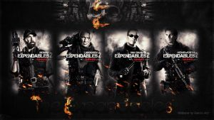 the expendables wallpaper by corki-gfx