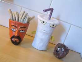 Aqua Teen Hunger Force by Raitei