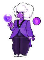 fancy amethyst by lymerikk