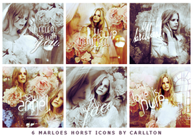 6 Marloes Horst Icons by Carllton