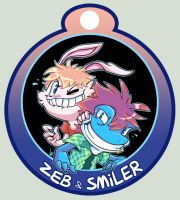 Smiler badge by vaporotem