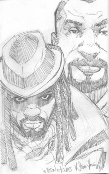 Watson-and-Holmes-Sketch by NStevenHarris
