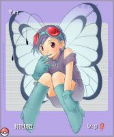 PKMN 012_Butterfree by Lumaga