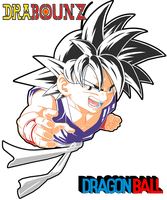 little goku by DrabounZ