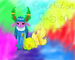 Eeveelutions Fusion by NaziViolinist