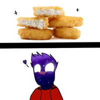 Nuggets With Meme Sauce by Techthegriffon
