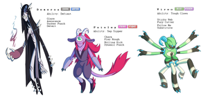 Saturn's Radius In2 Fakemon by blinkpen