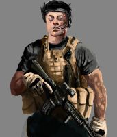 Ross Anderson, PMC by am-draw