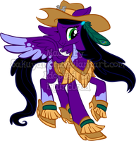 Mystery Evolving Pony Adoptables -Feather Stage3- by Sakuyamon