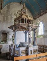 Brittany 47 - Baptismal Font by HermitCrabStock