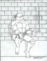 Raphael - Rare Moment of Peace by tmntart