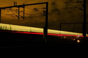 Passing Train by martineriksen
