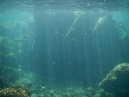 Panama Canal Underwater 001 by FairieGoodMother