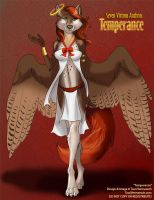 [Auction] 7 Virtuous Anthros: Temperance by Ulario