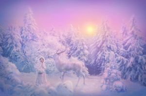 Winter Fairy Tale by IvannaDark