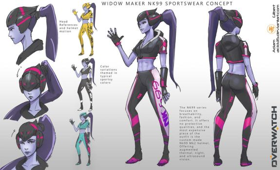 Widowmaker Nk99 Sportswear Concept Fun! by Adam-Gilbert