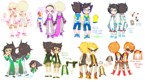 Acquaristuck: Kids Final Set by Jotaku