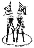 Sisters Of Pain by Pyramiddhead