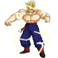 Goku SSJ2 Full Power V1 by DBZArtist94